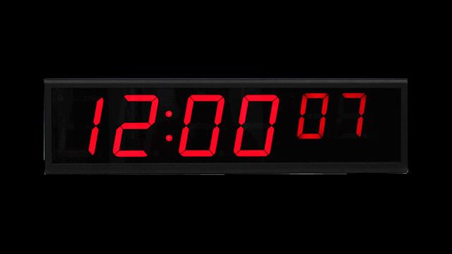 Zegar cyfrowy NTP