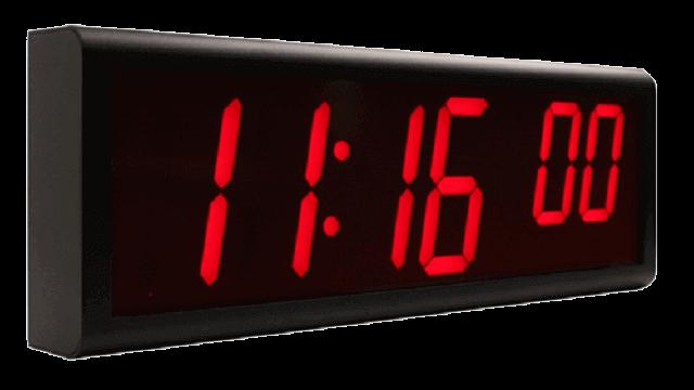 Cyfrowe zegary ścienne NTP