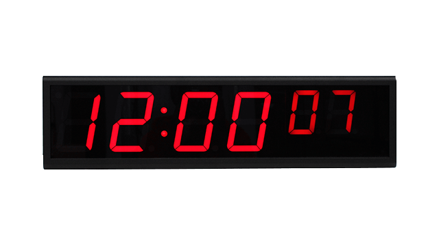 Zegar ścienny NTP